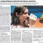 Article Lancement de la Bijouthèque Ouest France
